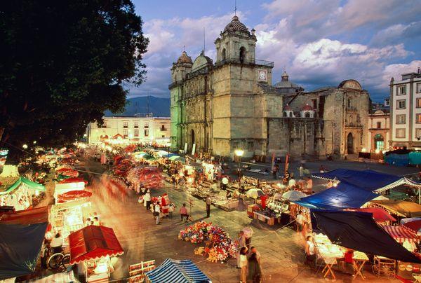 Oaxaca-night
