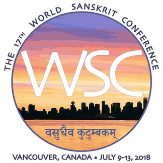 The 17th World Sanskrit Conference logo